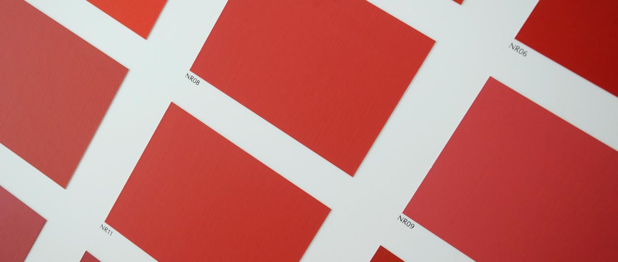 Les Nouveaux Rouges, une Collection de teintes par Ressource