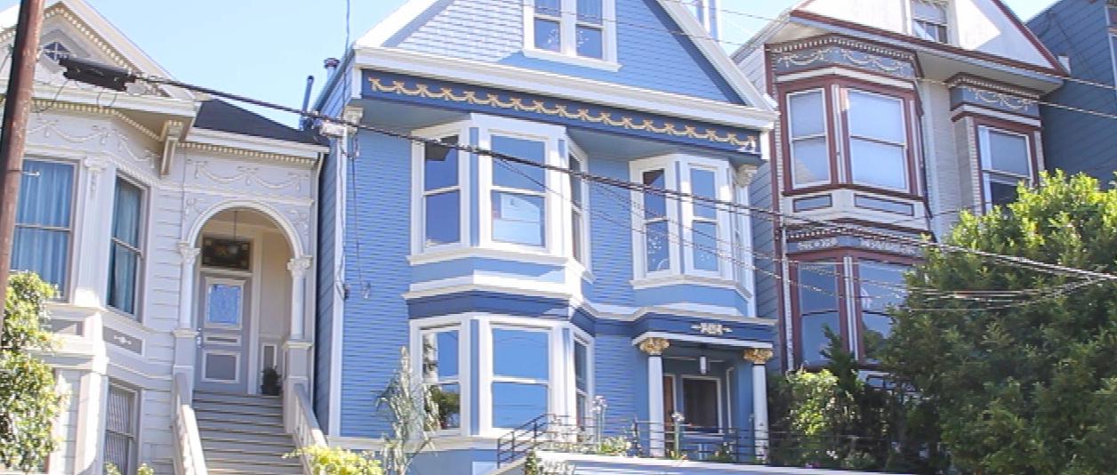 San Francisco - La Maison Bleue, une Collection de Ressource