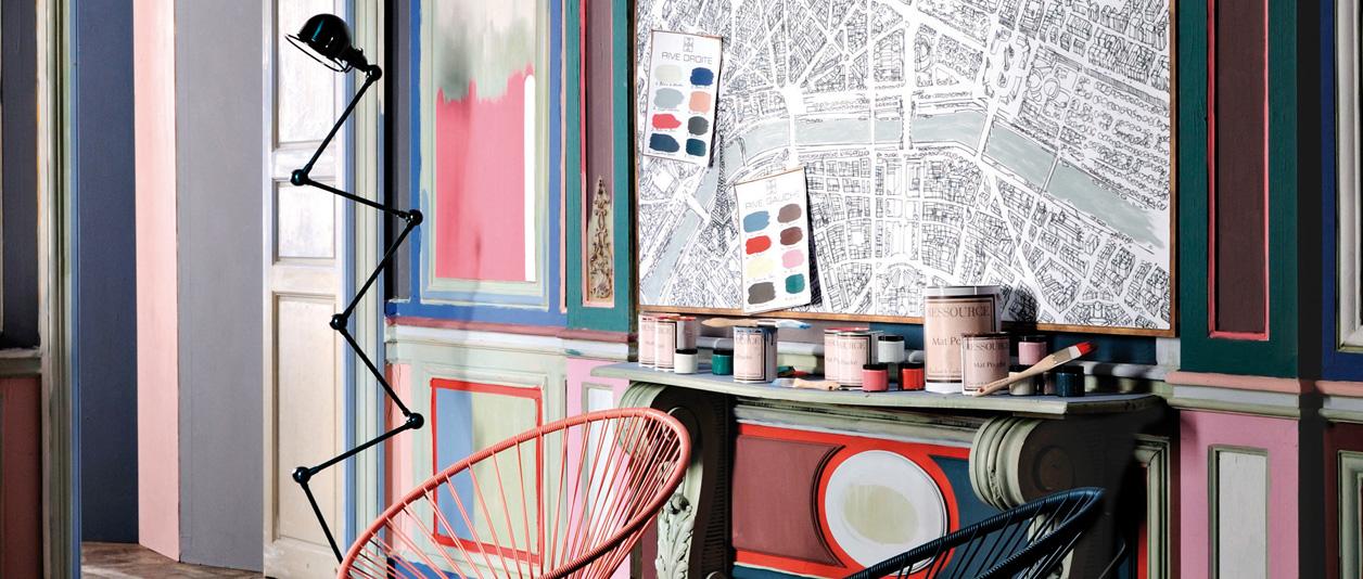 Collection Paris Rive Droite Rive Gauche - Ressource Peintures