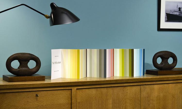 The 1950's Colours - une Collection de teintes par Patrick Baty pour Ressource