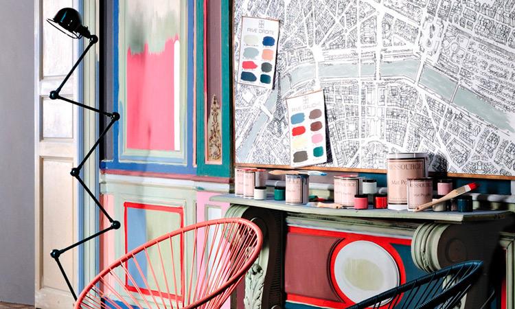Paris Rive Droite Rive Gauche - Ressource Peintures