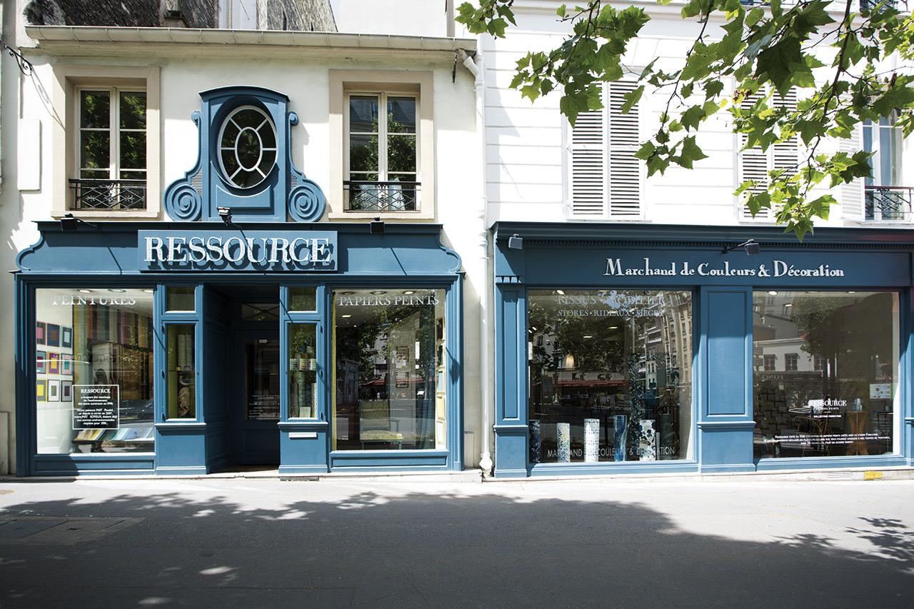 Boutique Ressource Paris Rive Gauche