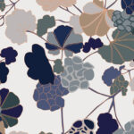 Papier Peint Ressource, Collection Forestine, Motif Florescence, Variation FL01