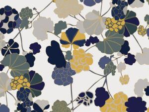Papier Peint Ressource, Collection Forestine, Motif Florescence, Variation FL02