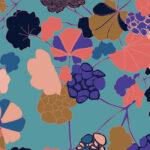 Papier Peint Ressource, Collection Forestine, Motif Florescence, Variation FL03