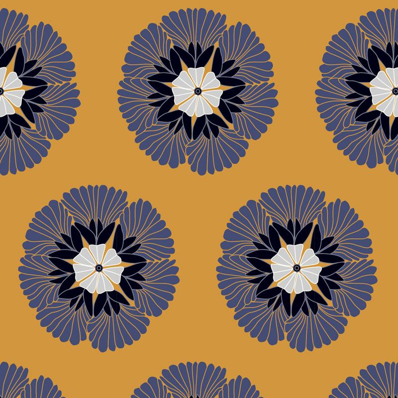 Papier Peint Ressource, Collection Forestine, Motif Albizia, Variation A01