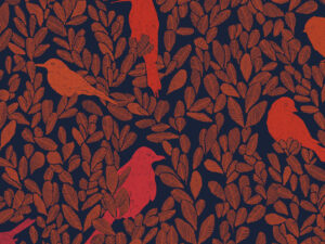 Papier Peint Ressource, Collection Forestine, Motif Paradis Caché, Variation PC01