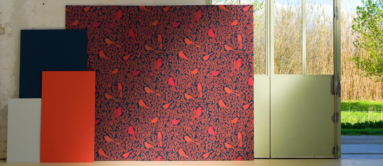 Papier Peint Ressource, Collection Forestine, Motif Paradis Caché