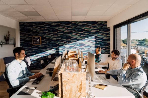 Les bureaux Comme un Camion en peintures et papiers peints Ressource !