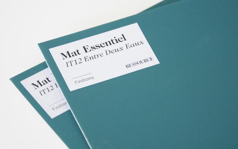 Mat Essentiel, une finition Ressource