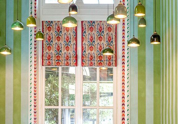 restaurant La Gare - enduits et peintures par Atelier Roma