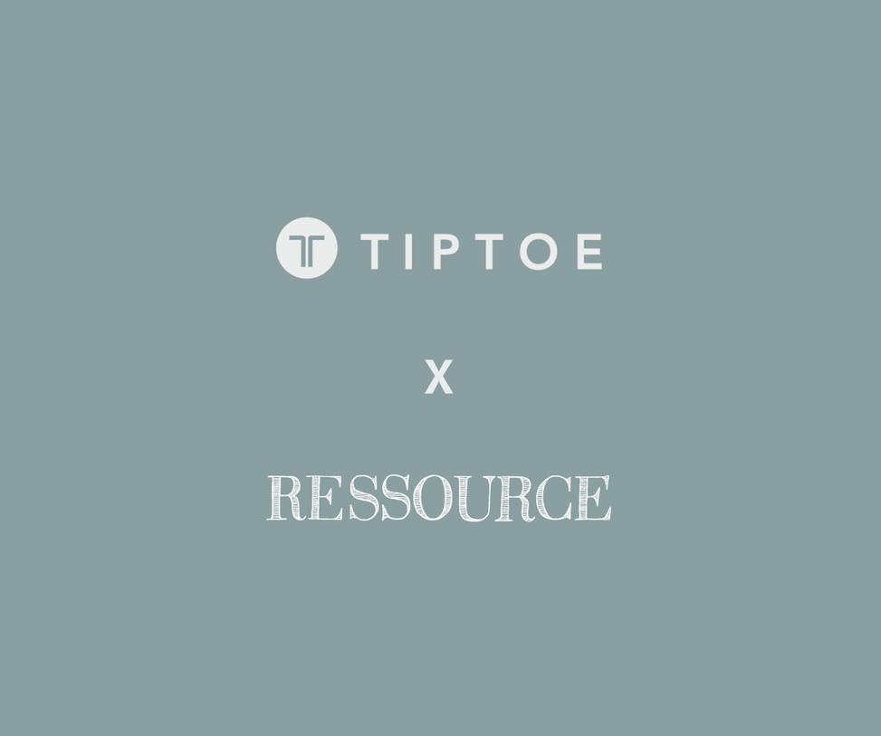 Ressource x Tiptoe : la collaboration évènement !