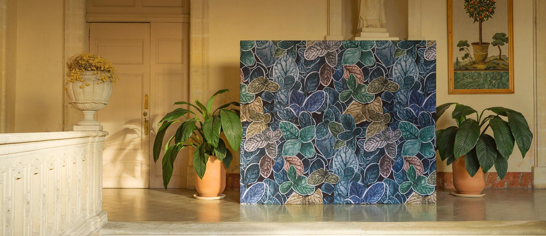 Papier Peint Ressource, Collection Faune & Flore, Motif Charmille grand modèle