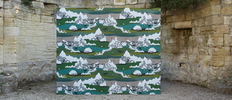 Papier Peint Ressource, Collection Faune & Flore, Motif Grands Espaces