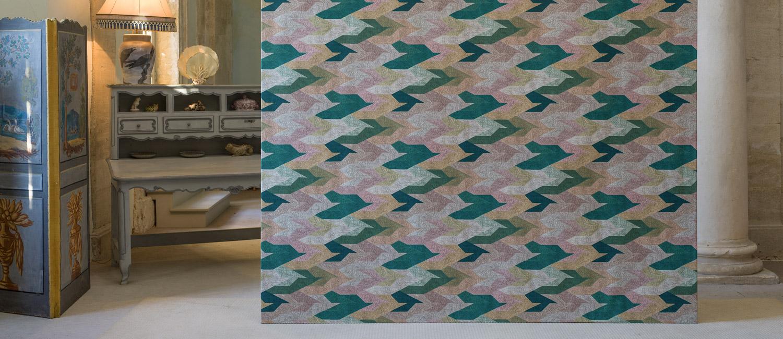 Papier Peint Ressource, Collection Faune & Flore, Motif Nuée grand modèle