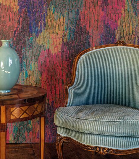 Faune & Flore, nouvelle collection de papiers peints Ressource par Annabelle Vermont