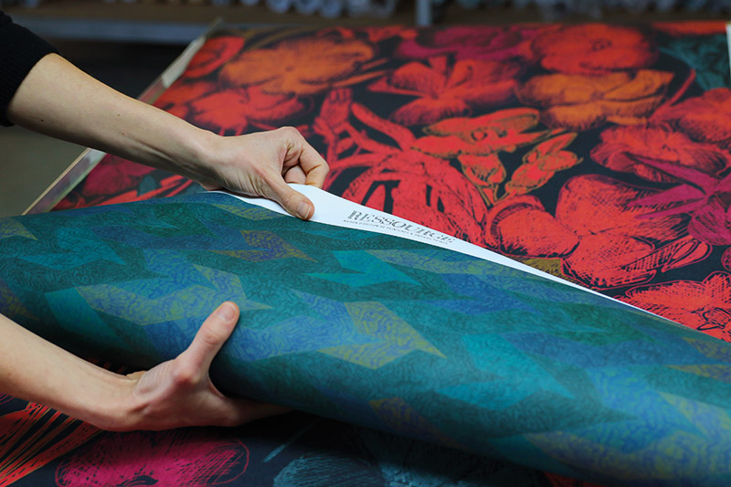 Faune & Flore, nouvelle collection de papiers peints Ressource imprimée en Provence !