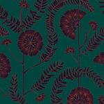 Papier Peint Ressource, Collection Faune & Flore, Motif Anna, Variation AA03