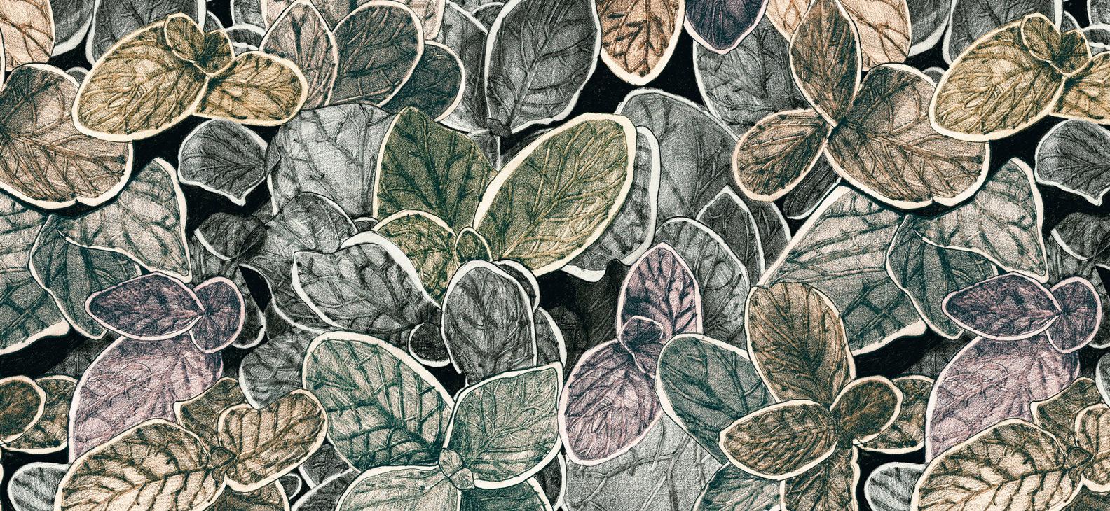 Papier Peint Ressource, Collection Faune & Flore, Motif Charmille, Variation CG03