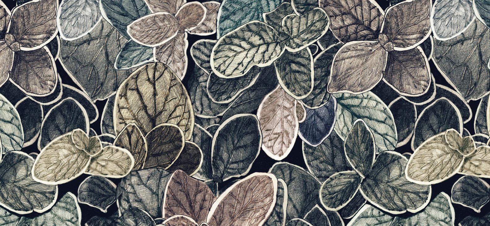 Papier Peint Ressource, Collection Faune & Flore, Motif Charmille, Variation CP01