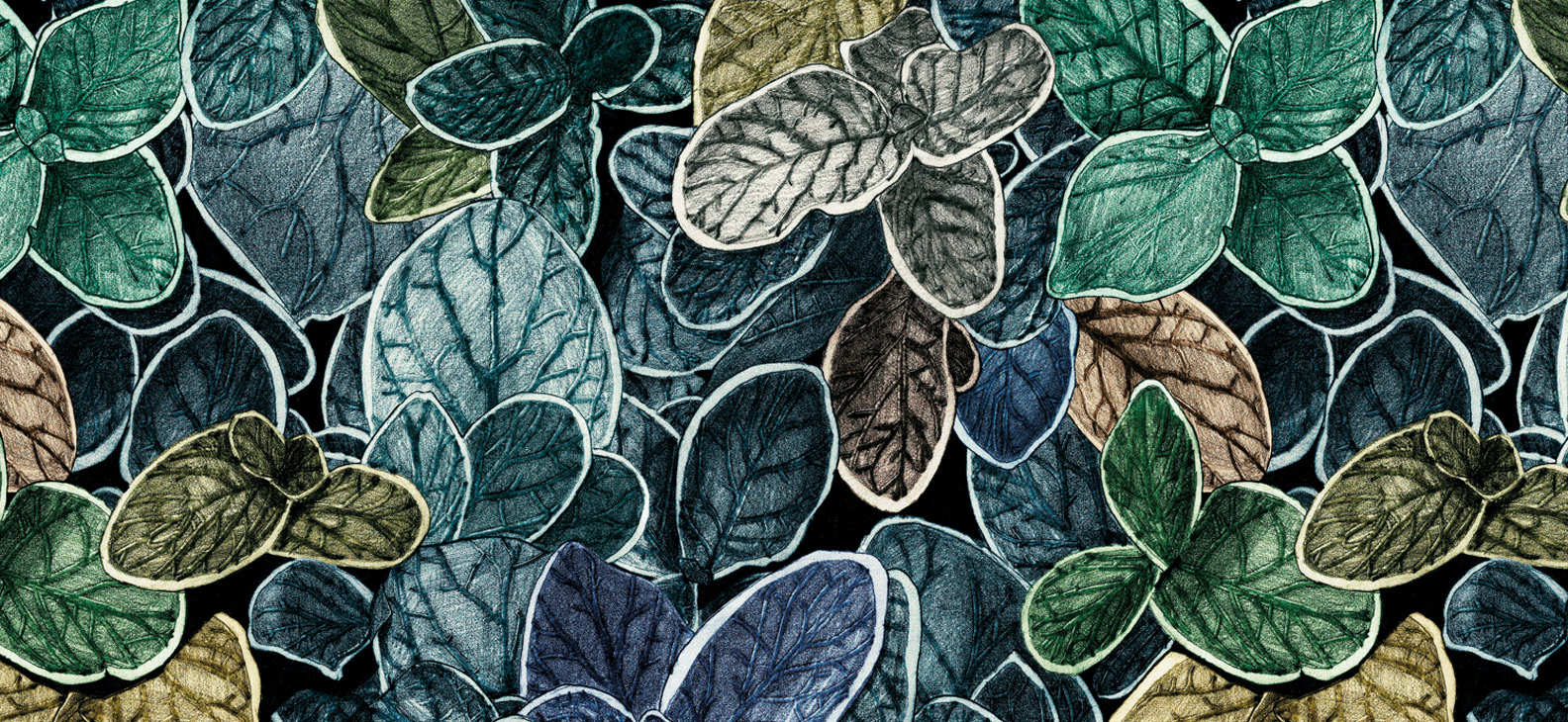 Papier Peint Ressource, Collection Faune & Flore, Motif Charmille, Variation CP05