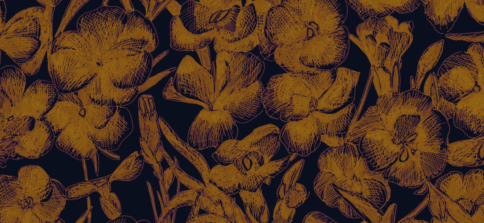 Papier Peint Ressource, Collection Faune & Flore, Motif Estampe, Variation ES03