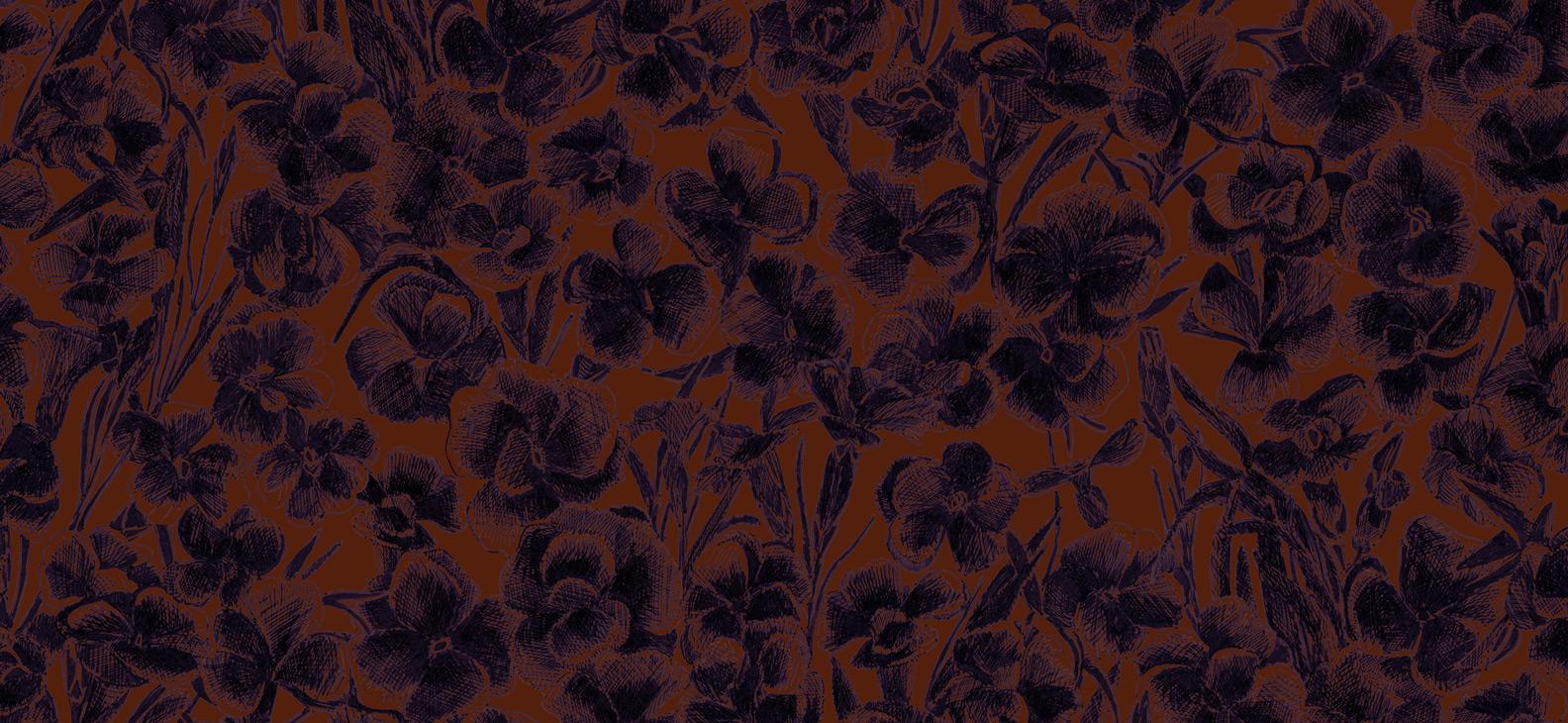 Papier Peint Ressource, Collection Faune & Flore, Motif Estampe, Variation ES04