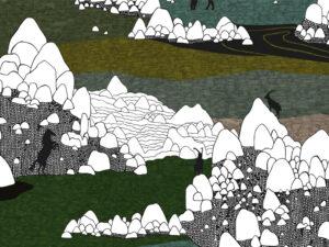 Papier Peint Ressource, Collection Faune & Flore, Motif Grands Espaces, Variation GE01
