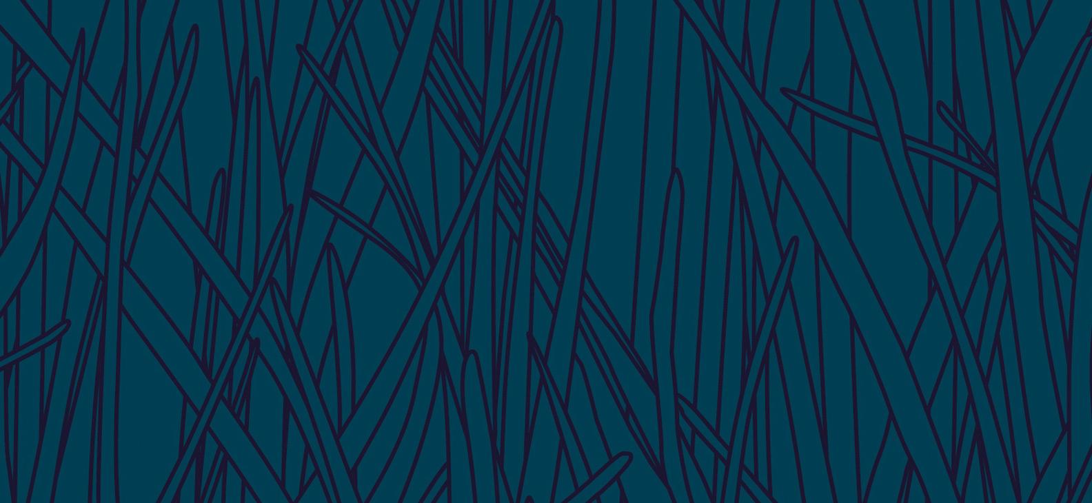 Papier Peint Ressource, Collection Faune & Flore, Motif Herbes Folles, Variation HF06