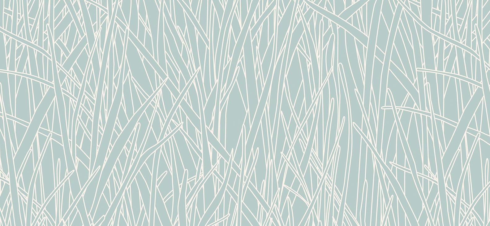 Papier Peint Ressource, Collection Faune & Flore, Motif Herbes Folles, Variation HF07