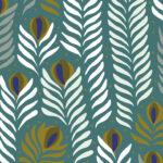Papier Peint Ressource, Collection Faune & Flore, Motif Panache, Variation PAG03