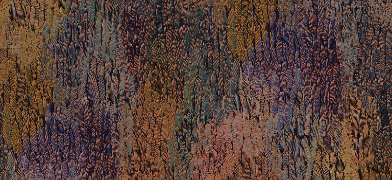 Papier Peint Ressource, Collection Faune & Flore, Motif Plumage, Variation PL03