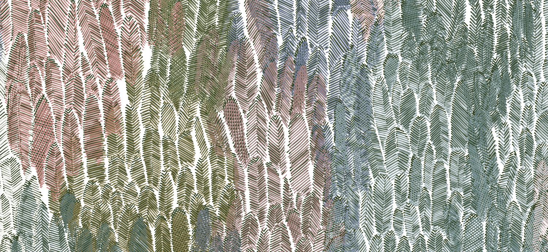 Papier Peint Ressource, Collection Faune & Flore, Motif Plumage, Variation PL05