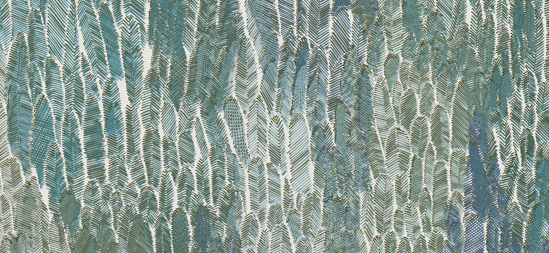 Papier Peint Ressource, Collection Faune & Flore, Motif Plumage, Variation PL06