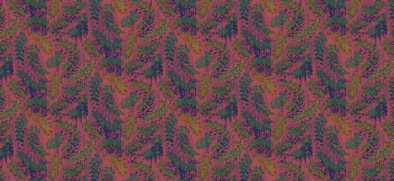 Papier Peint Ressource, Collection Faune & Flore, Motif Rameaux, Variation RP05