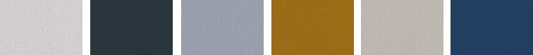 Collection Serge Bensimon, une collection de teintes par Serge Bensimon pour Ressource, Maison d'Edition de Peintures et Papiers Peints