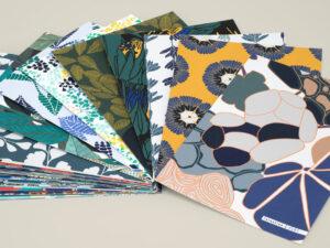 Echantillons A4 papiers peints Forestine