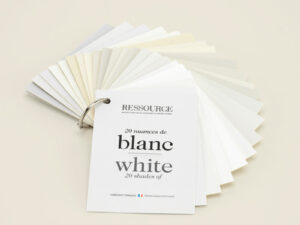 """Nuancier """"20 nuances de blanc"""""""