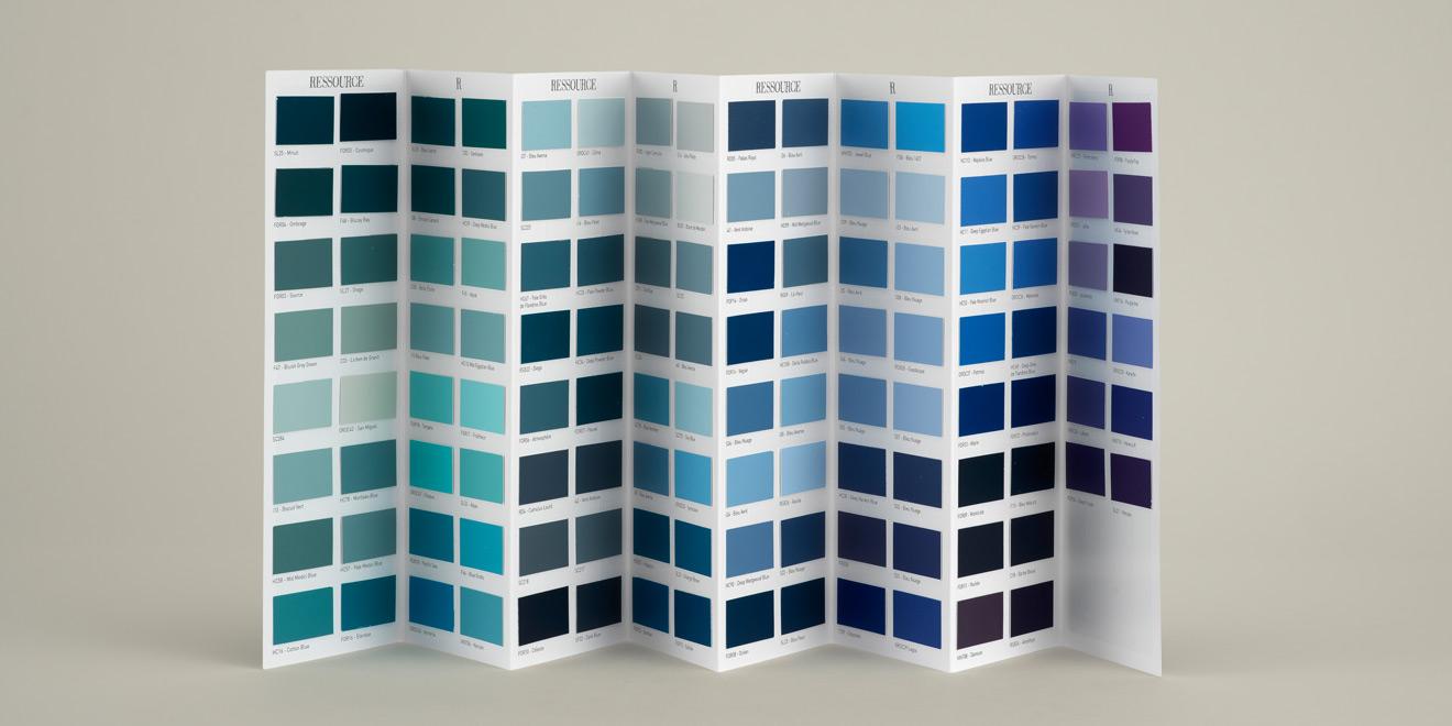 Nuancier accordéon Les Bleus