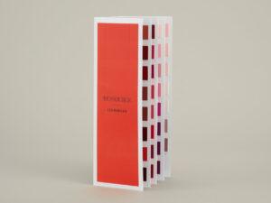 Nuancier accordéon Les Rouges