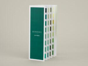 Nuancier accordéon Les Verts