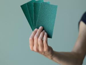 Papier abrasif, grain 150