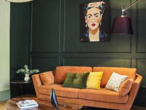 Projet de renovation et decoration d'un appartement haussmannien par le studio Lalahome avec les peintures Ressource