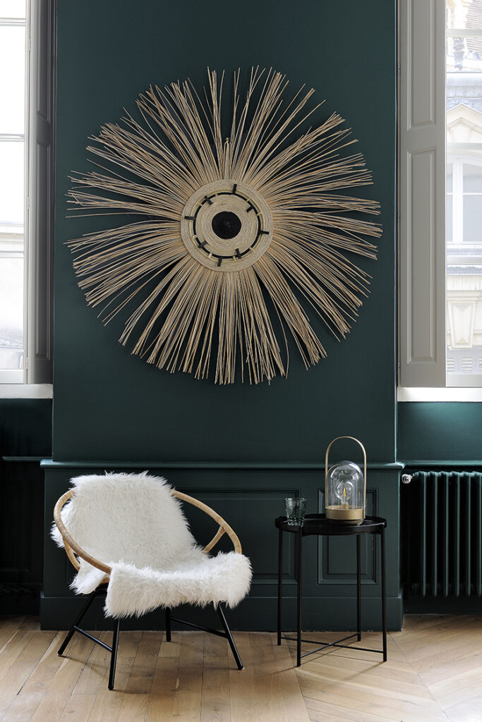 appartement-haussmannien-magnifie-par-la-couleur ressource peintures decoration Christine De Brechard